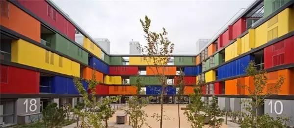 Rainbow House by Amann-Canovas-Maruri