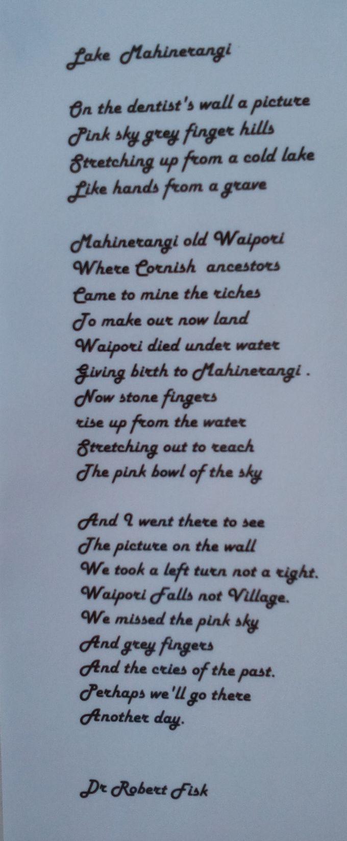 mahinerangi_poem